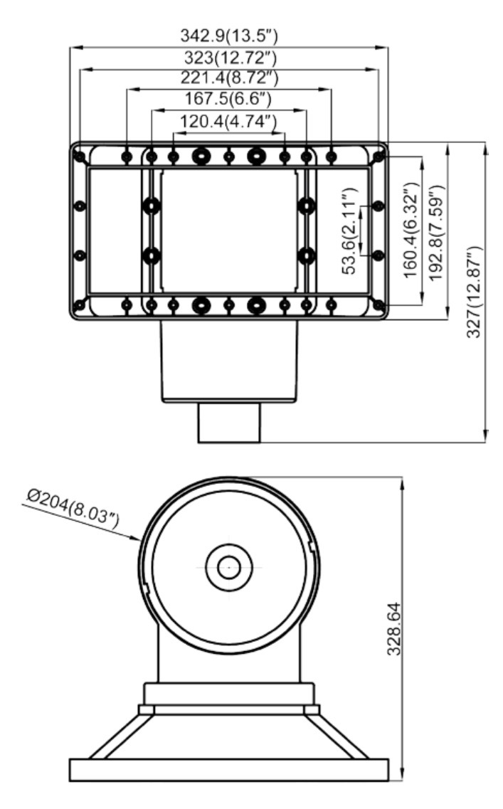 skimmer breit pool oberfl chenskimmer komplett set schwimmbecken ebay. Black Bedroom Furniture Sets. Home Design Ideas